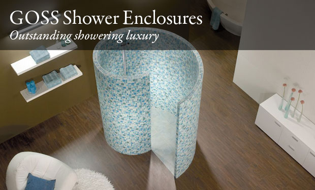 Picture of spiral shower encloser in situe